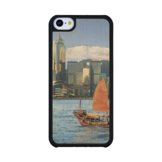 China; Hong Kong; Victoria Harbour; Harbor; A Carved® Maple iPhone 5C Slim Case