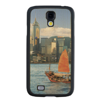 China; Hong Kong; Victoria Harbour; Harbor; A Carved® Maple Galaxy S4 Slim Case