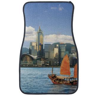 China; Hong Kong; Victoria Harbour; Harbor; A Car Mat