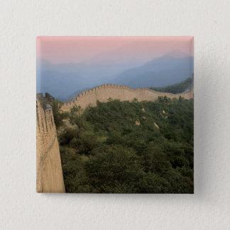 China, Huairou County, Mutianyu section of The 2 Pinback Button