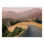 China, Huairou County, Sunset over the Poster