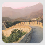 China, Huairou County, Sunset over the Stickers
