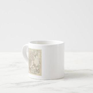 China, India, Asia 6 Oz Ceramic Espresso Cup