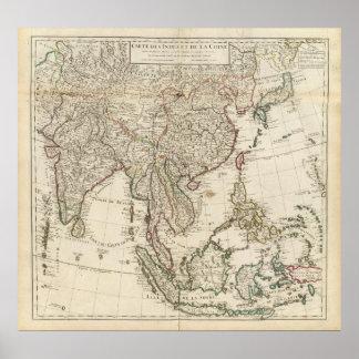 China, India, Asia Poster