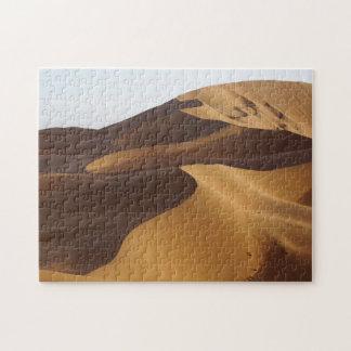 China, Inner Mongolia, desierto de Badain Jaran Puzzle Con Fotos