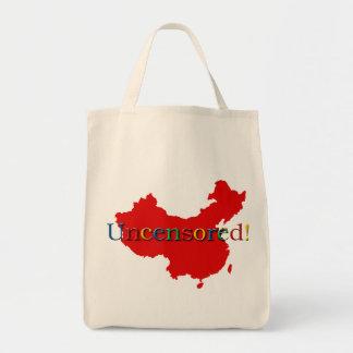 China Internet Search Uncensored Tote Bag
