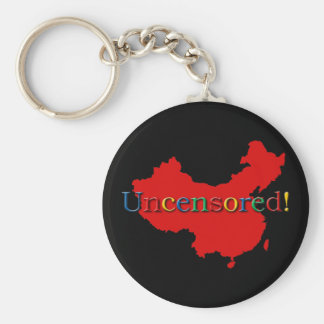 China Internet Search Uncensored Keychain