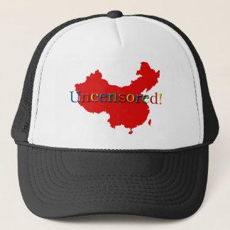 China Internet Search Uncensored Trucker Hat