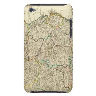 China, Korea atlas map iPod Touch Case