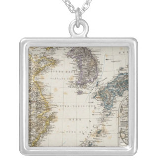 China, Korea, Japan Silver Plated Necklace