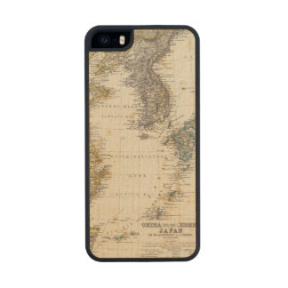 China, Korea, Japan Carved® Maple iPhone 5 Slim Case