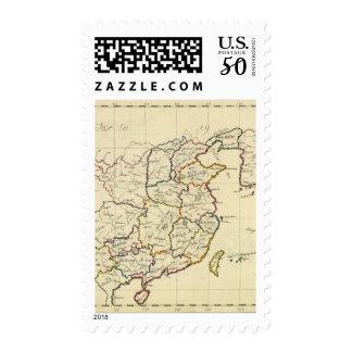 China, Korea Postage