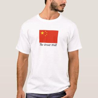 "China ""la Gran Muralla "" Playera"