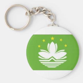 China Macao Flag Keychain