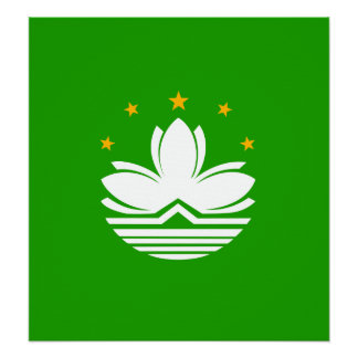 China Macao High quality Flag Print