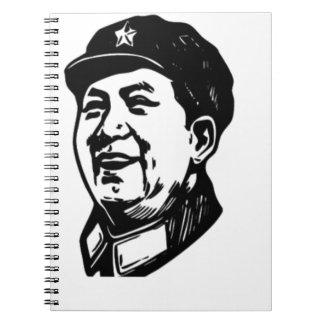 China Mao symbol Notebook