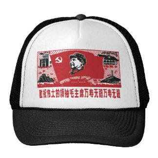China Mao Zedong Trucker Hat