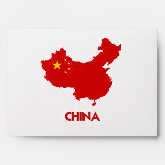 CHINA MAP ENVELOPE
