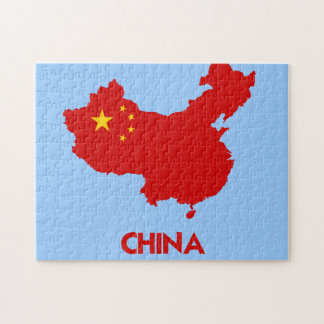 CHINA MAP JIGSAW PUZZLE