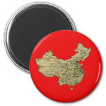 China Map Magnet