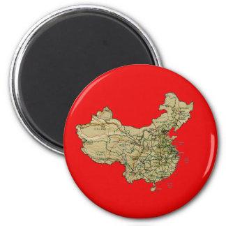 China Map Magnet
