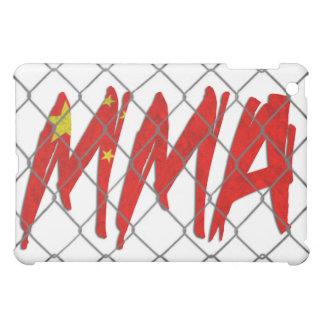 China MMA white iPad case