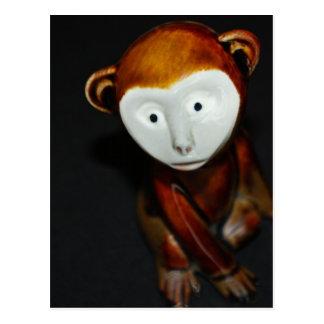 China Monkey Post Card