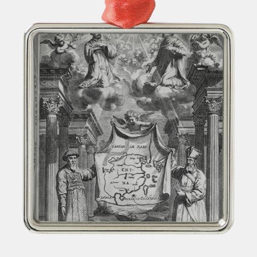 """China Monumentis"" por Athanasius Kircher, Ornamentos Para Reyes Magos"