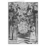 """""""China Monumentis"""" por Athanasius Kircher, Felicitación"""
