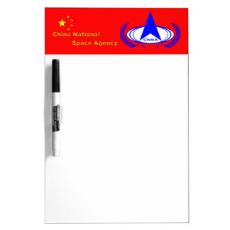 China National Space Administration  - CNSA Dry-Erase Board