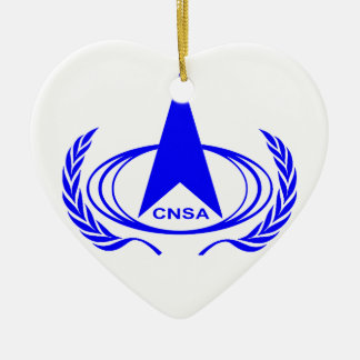 China National Space Administration - CNSA Christmas Ornament