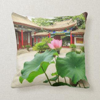 China Pagoda Interior Throw Pillow