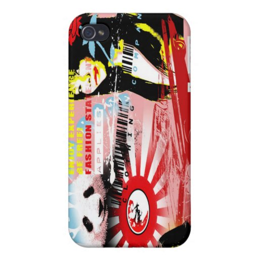 china panda iPhone 4 cover