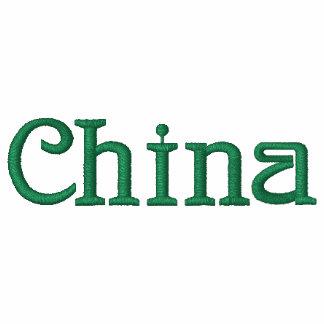 CHINA Patriotic Embroidered Designer Hoodie