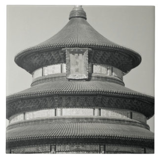 China, Pekín, distrito de Chongwen. Templo de Azulejo Cuadrado Grande