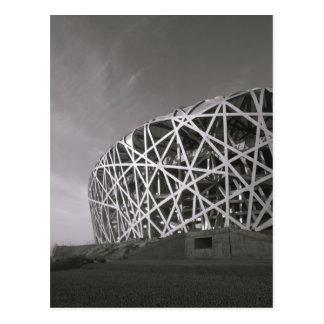 China, Pekín. Estadio nacional, lugar para Postales