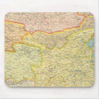 China political map mouse pad