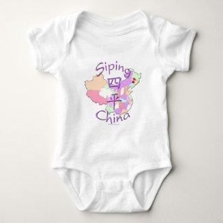 China que sorbe body para bebé