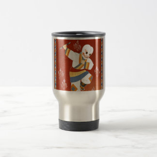 China Railway Japanese Dance Vintage Travel 15 Oz Stainless Steel Travel Mug