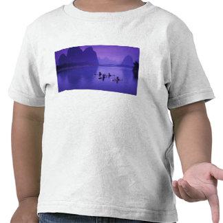 China río de Li Pescadores del cormorán Camiseta