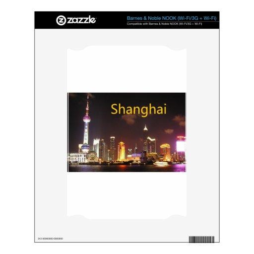 China Shangai (St.K) NOOK Calcomanías