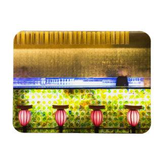 China, Shanghai. Bar in the Xin Tian Di bar 2 Magnet