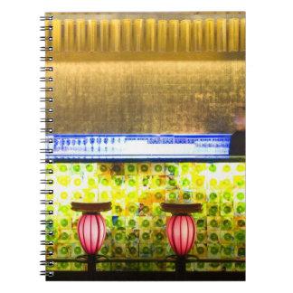 China, Shanghai. Bar in the Xin Tian Di bar 2 Notebook