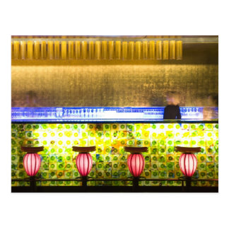 China, Shanghai. Bar in the Xin Tian Di bar 2 Postcard