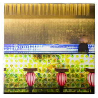 China, Shanghai. Bar in the Xin Tian Di bar 2 Tile