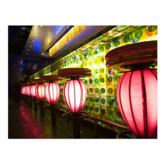 China, Shanghai. Bar in the Xin Tian Di bar Postcard