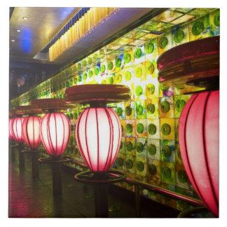 China, Shanghai. Bar in the Xin Tian Di bar Tile