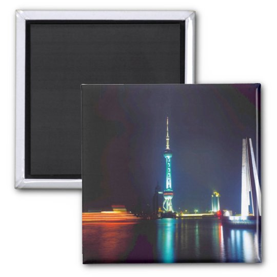 China Shanghai Oriental Pearl Tower Magnet