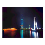 China Shanghai Oriental Pearl Tower Post Cards