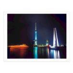China Shanghai Oriental Pearl Tower Postcard